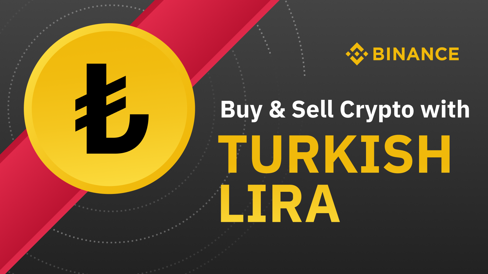 بایننس جفت ارزهای معاملاتی برای لیر ترکیه را اضافه می کند